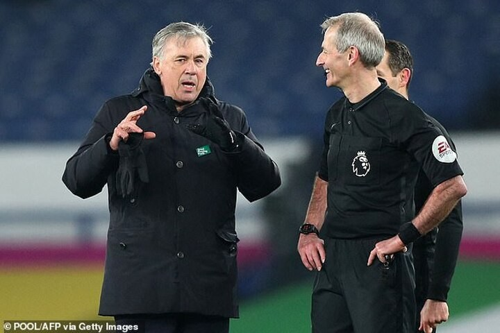 Ancelotti admits it would be a 'DREAM' to make the top four this season