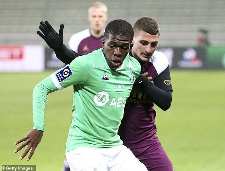 Chelsea 'weigh up £23m move for St Etienne's 17-year-old midfielderLucas Gourna-Douath'