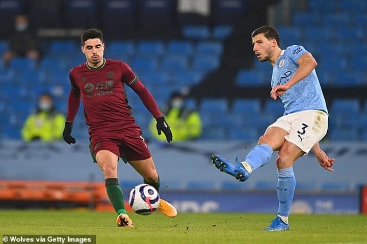 Manchester City's Ruben Dias admits watching Rio Ferdinand and Nemanja Vidic was his 'dream weekend'