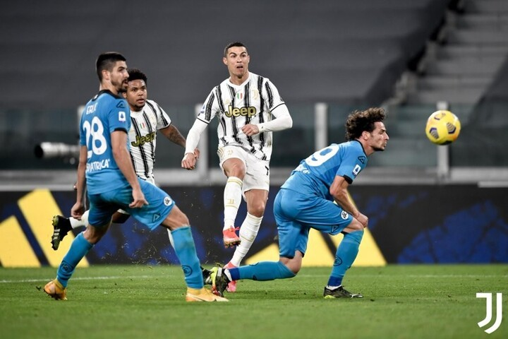 Juventus 3-0 Spezia: Ronaldo, Chiesa & Morata net as Pirlo's side cruise to win