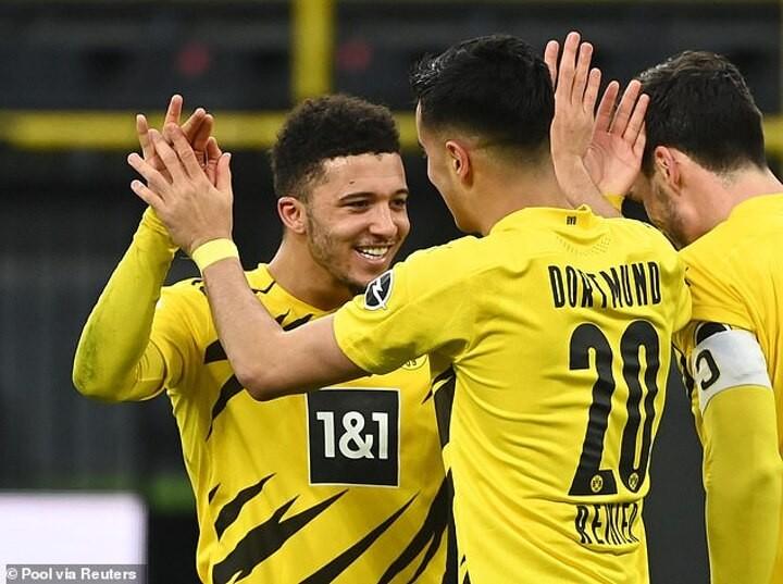 Gladbach 0-1 Dortmund: Sancho secures place in DFB-Pokal semi-finals