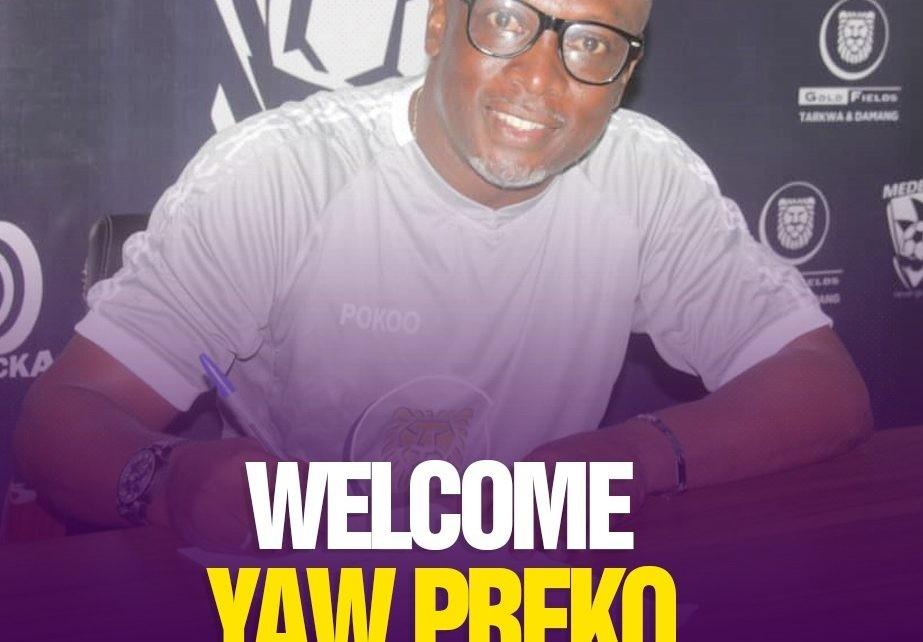 Yaw Preko joins Medeama as Head Coach - Ghana Latest Football News, Live  Scores, Results - GHANAsoccernet