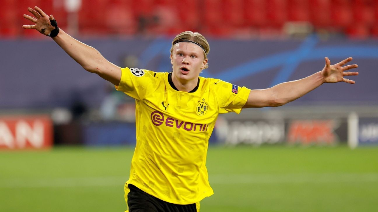 Transfer Talk: Manchester City see Dortmund's Haaland as Aguero replacement