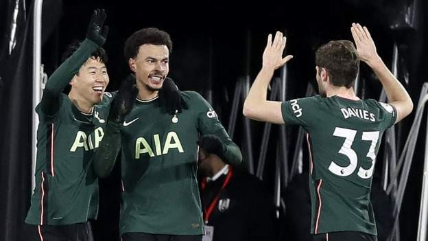 Spurs edge to victory against Fulham