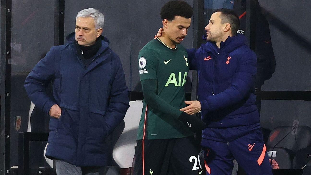 Fulham start 'not a gift' for Spurs' Alli - Mourinho