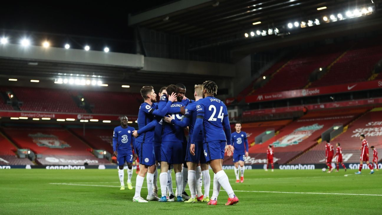 Chelsea position themselves for top four, leaving Liverpool behind