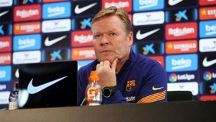 Koeman: I am really proud of the atmosphere in the Barca dressing room
