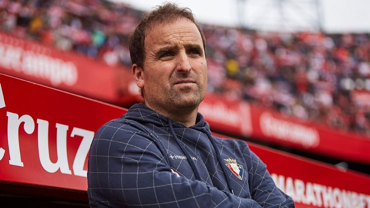 Arrasate, Osasuna's 'Jurgen Klopp' on coaching, soccer during pandemic