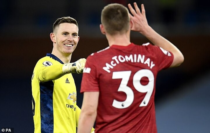 MARTIN KEOWN: Dean Henderson's clever throw helped beat Manchester City's press...