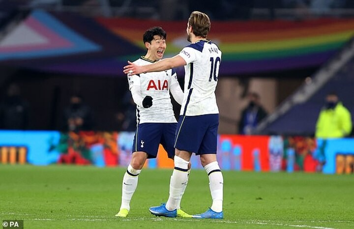 Tottenham stars Harry Kane and Son Heung-min break Premier League record