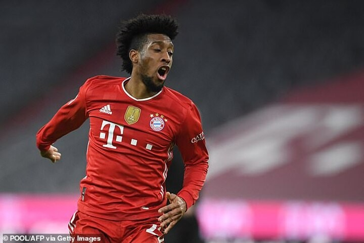 Coman rejects Bayern offer as he seeks increase on current £140,000-a-week deal