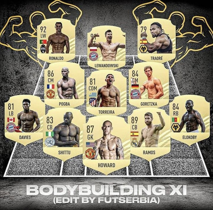 Bodybuilding XI, would you have made any other candidates?