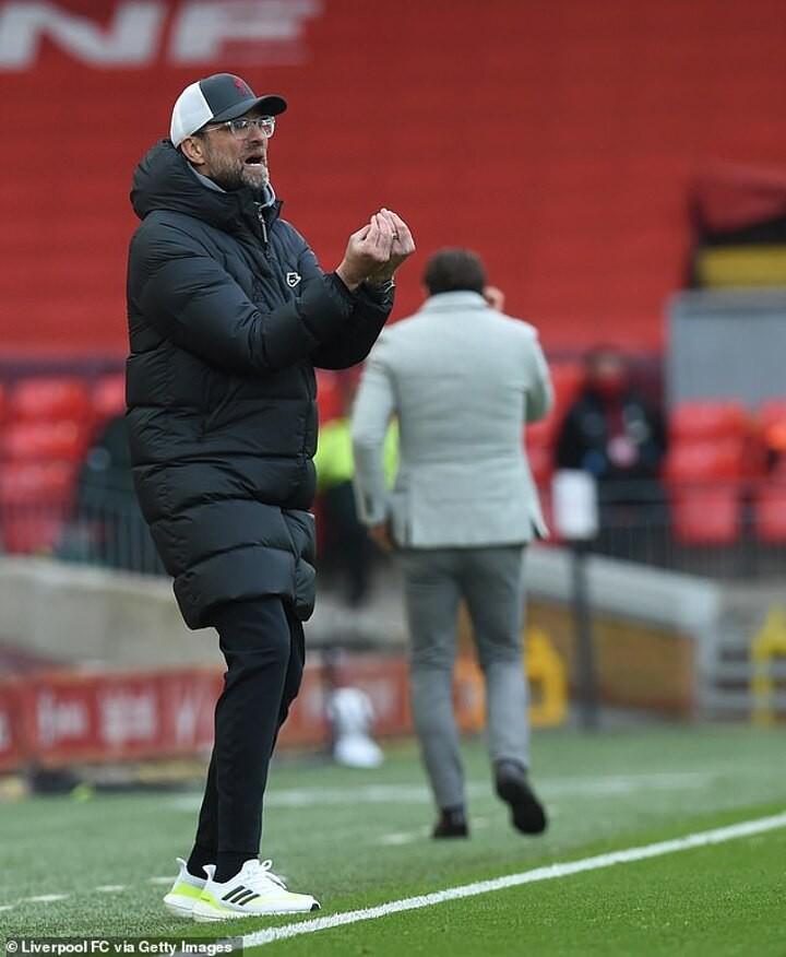 Klopp hopes a break from their torrid Premier League form will be good