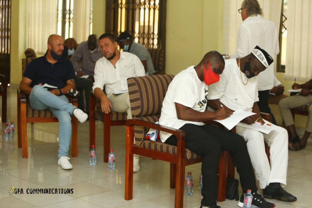 Ghana Premier League coaches successfully end one day technical review programme