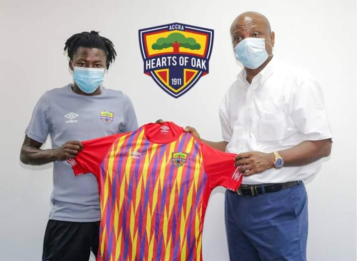 Hearts newboy Salifu Ibrahim pledges to contribute his quota towards the success of the club