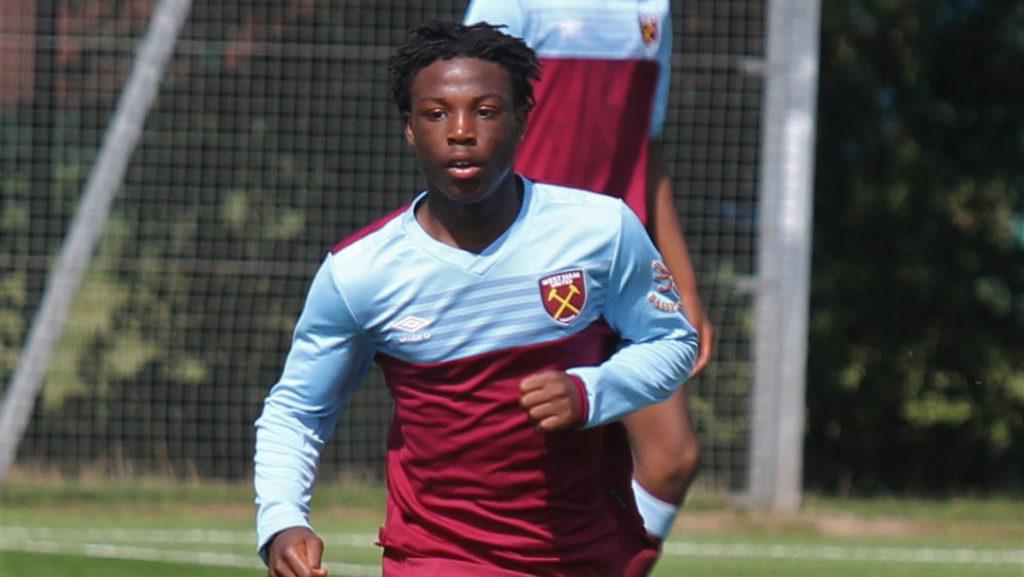 West Ham to unleash talented Ghanaian kid Keenan Appiah-Forson next season