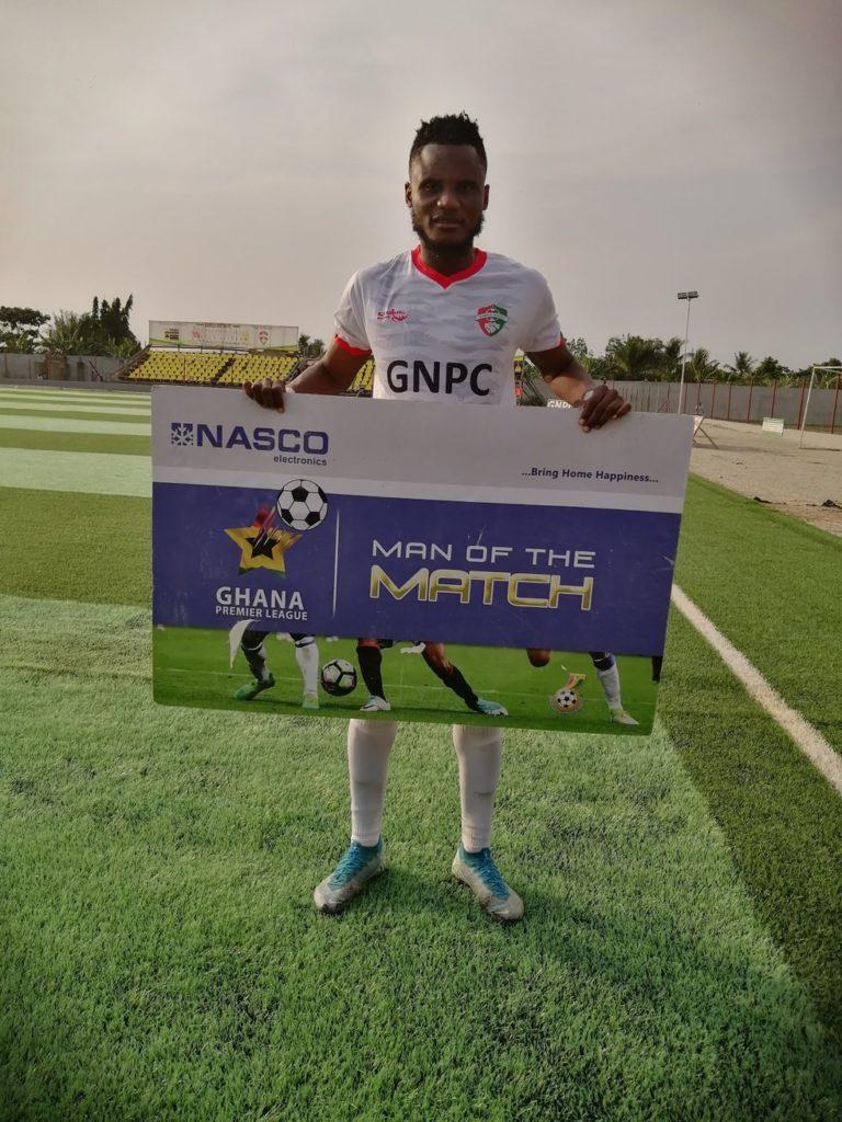 2020/21 Ghana Premier League: Sadiq Alhassan named MoTM in Karela's victory over Aduana