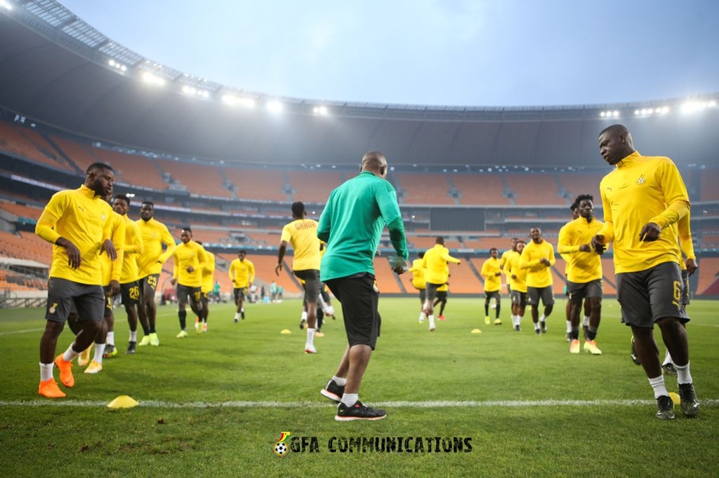 GHALCA sends goodwill message to Black Stars ahead of South Africa AFCON crunch tie