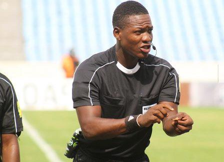 Referee Daniel Laryea to Officiate Côte D'Ivoire - Ethiopia AFCON qualifier