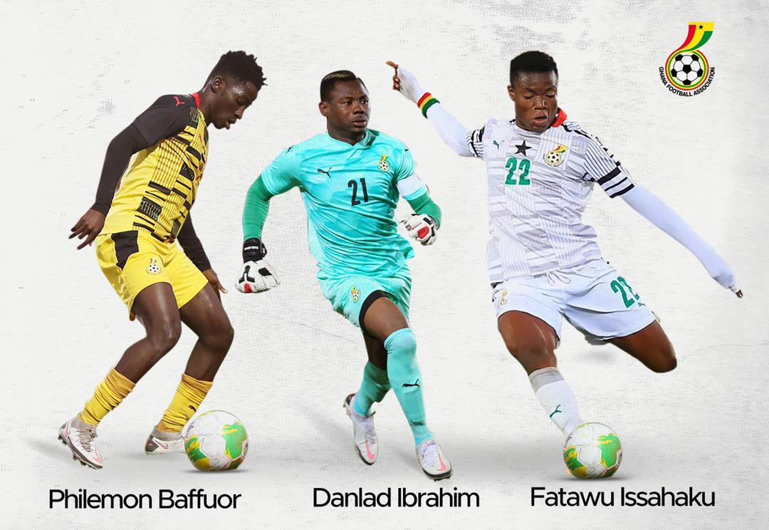 AFCON U-20 MVP Fatawu Issahaku and two Black Satellites players earn Black Stars call-up