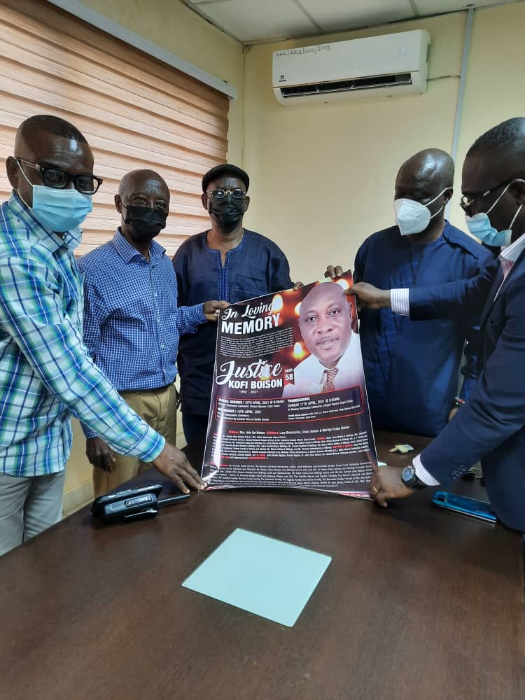 Family of late football administrator Justice Boison calls on GHALCA