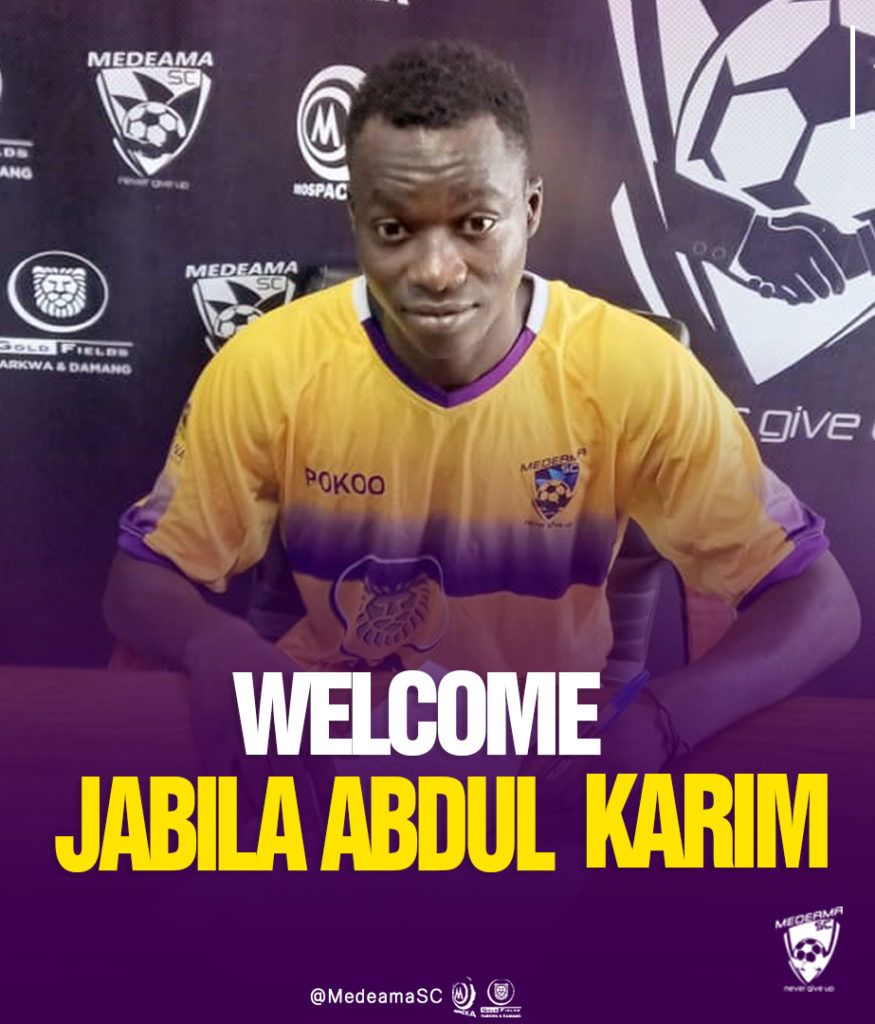 OFFICIAL: Medeama sign defender Abdul Karim Jabila from Legon Cities on a three-year deal