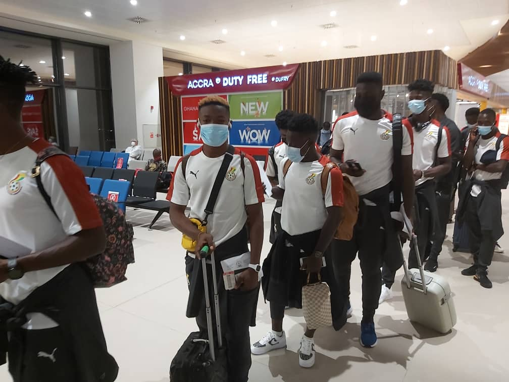 Black Stars B leave for Uzbekistan friendly