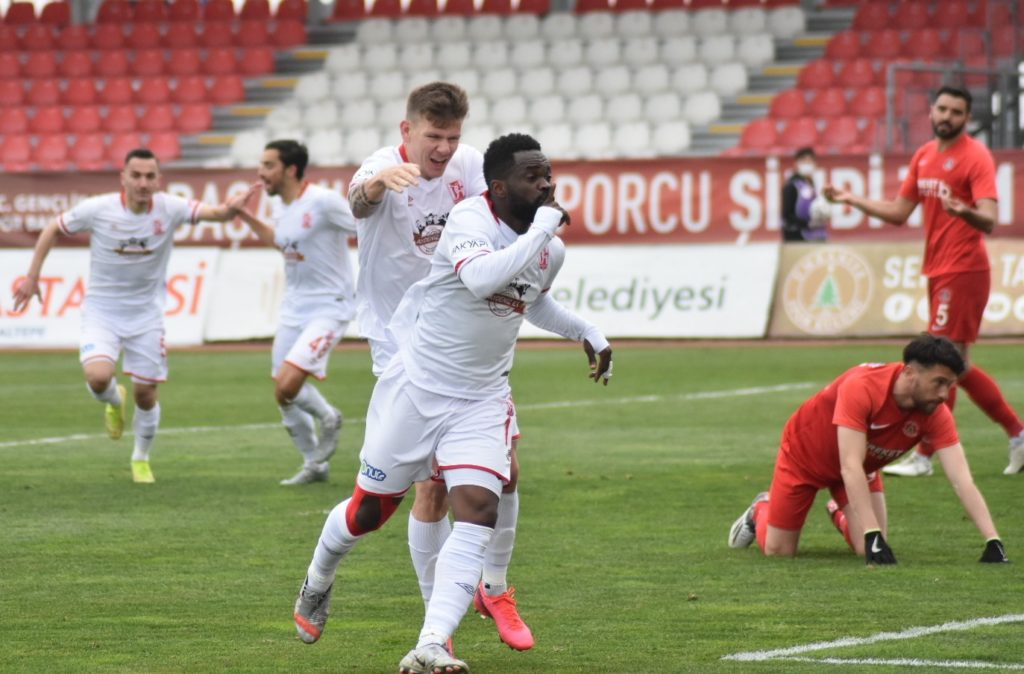 VIDEO: Mahatma Otoo's winning goal for Balikesirspor against Umraniyespor