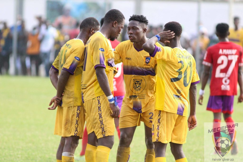 Medeama go on a 4-day break after end of first round of season