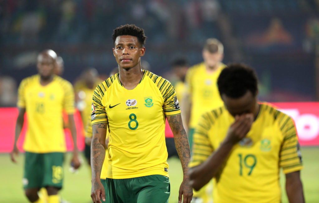 Ghana's 2022 World Cup qualifying opponents South Africa see off Uganda in friendly game