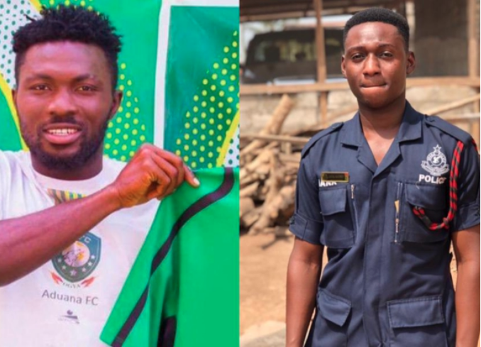 Ghana Police reveals how Aduana Stars defender was arrested in the alleged 'Hit and Run' incident