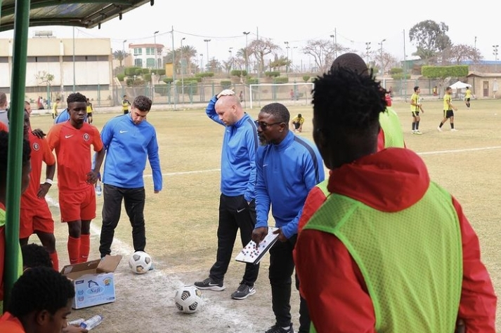 Coach Laryea Kingston leads Right to Dream U18 on Egypt tour
