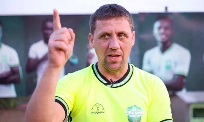 VIDEO: Dreams FC coach Vladislav Viric apologizes for officiating comments in defeat to Asante Kotoko