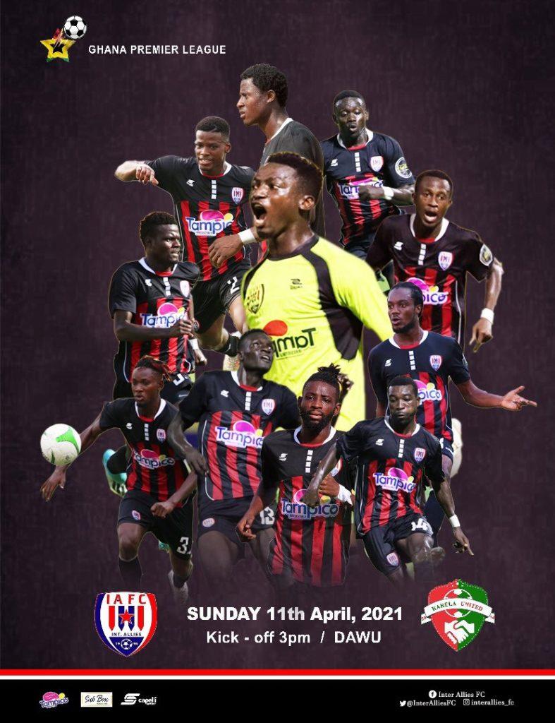 2020/21 Ghana Premier League: Week 19 Match Preview- Inter Allies v Karela United