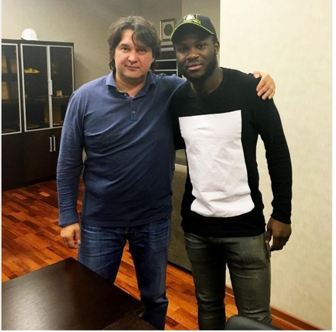 Former Arsenal midfielder Emmanuel Frimpong opens up on how he landed his first deal in Russia