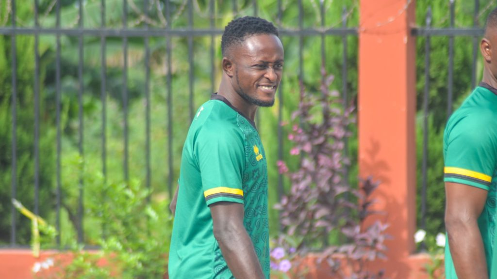 Kotoko coach Mariano Baretto lavish praises on new forward Andy Kumi