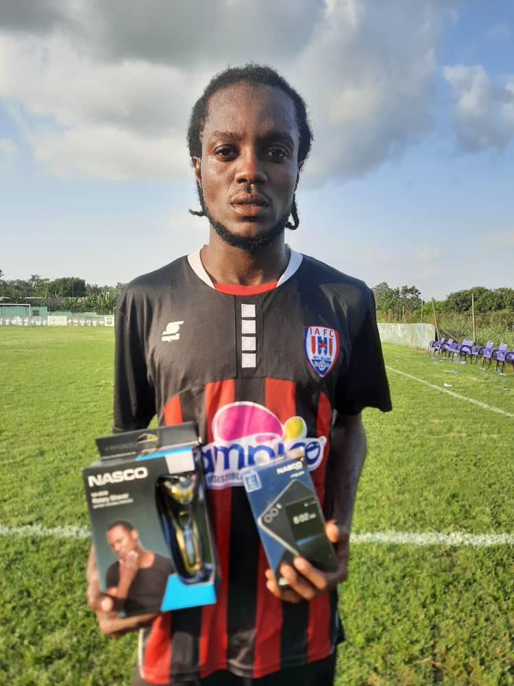 2020/21 Ghana Premier League: Inter Allies midfield kingpin Richmond Lamptey named MoTM in victory over Karela United