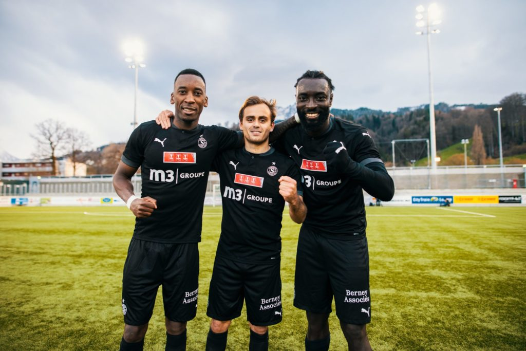 Ghanaian forward Greyjohn Kyei powers Servette FC to Swiss Cup semi-finals