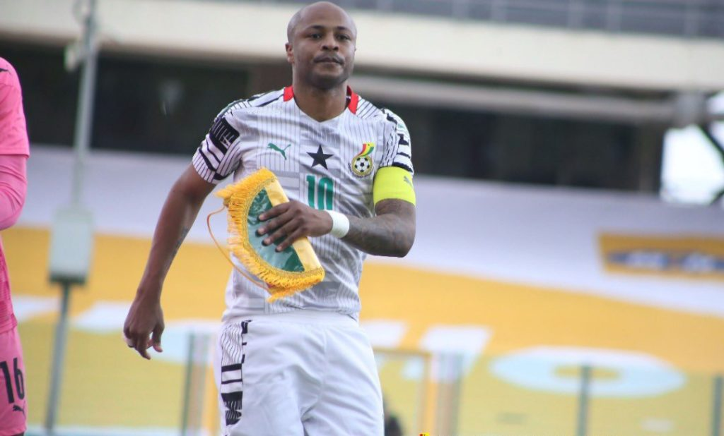 Fears of Andre Ayew missing Ghana's 2022 World Cup qualifications in June allayed