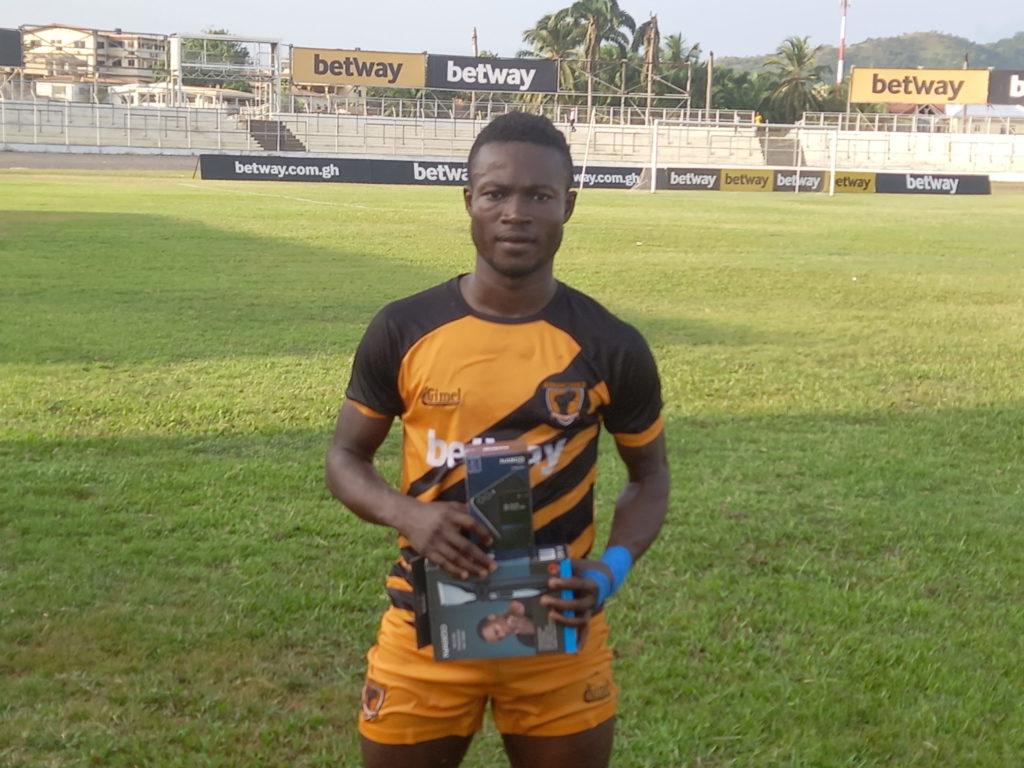 2020/21 Ghana Premier League: Kwadwo Amoako wins MVP award as AshantiGold thump Bechem United