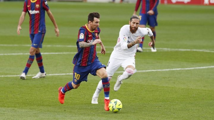 How many Clasicos has Messi played? Goals, victories and defeats