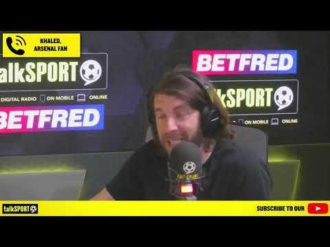 ANDY GOLDSTEIN V KHALED! Khaled the Arsenal fan says he still backs Mikel Arteta as Arsenal boss!