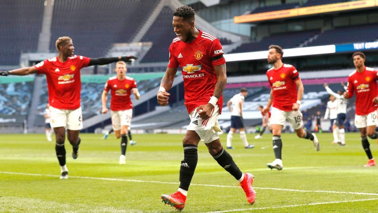 Man United take points in testy Tottenham game