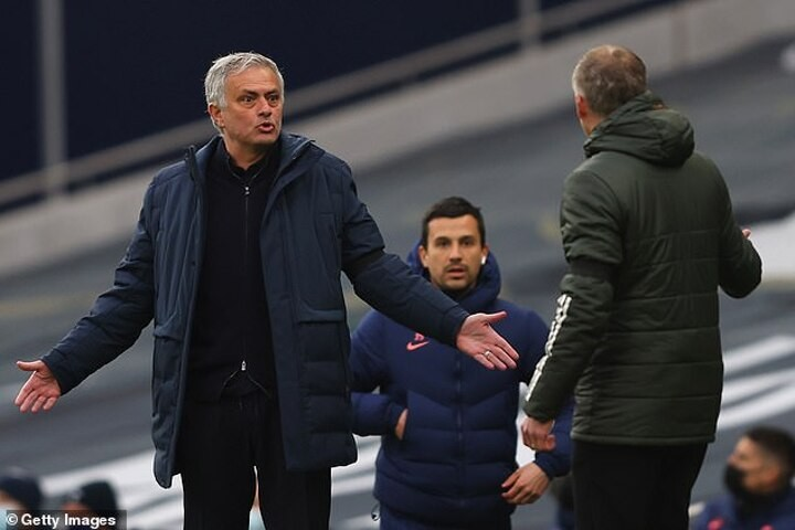 Jose Mourinho says Paul Pogba could have been sent off in Tottenham's loss to Manchester United