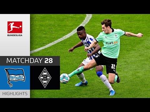 Hertha Berlin - Borussia M'gladbach | 2-2 | Highlights | Matchday 28 – Bundesliga 2020/21