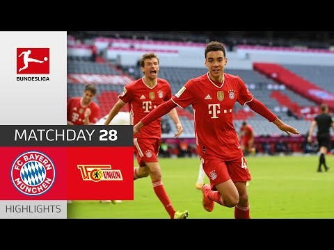 FC Bayern - Union Berlin | 1-1 | Highlights | MD 28 20/21