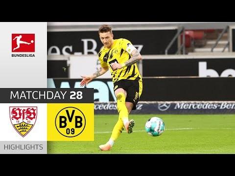 VfB Stuttgart - Borussia Dortmund | 2-3 | Highlights | Matchday 28 – Bundesliga 2020/21