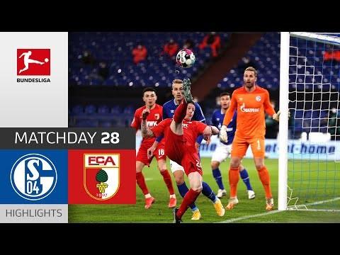 FC Schalke 04 - FC Augsburg   1-0   Highlights   Matchday 28 – Bundesliga 2020/21