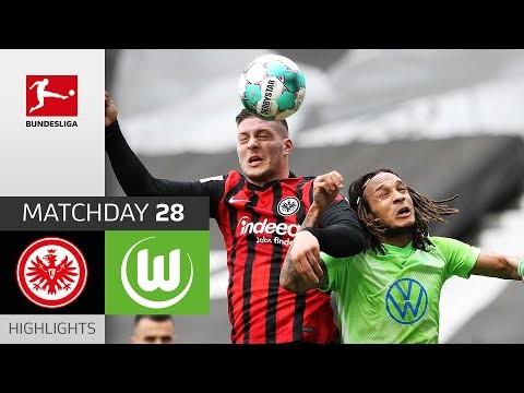 Eintracht Frankfurt - VfL Wolfsburg | 4-3 | Highlights | Matchday 28 – Bundesliga 2020/21