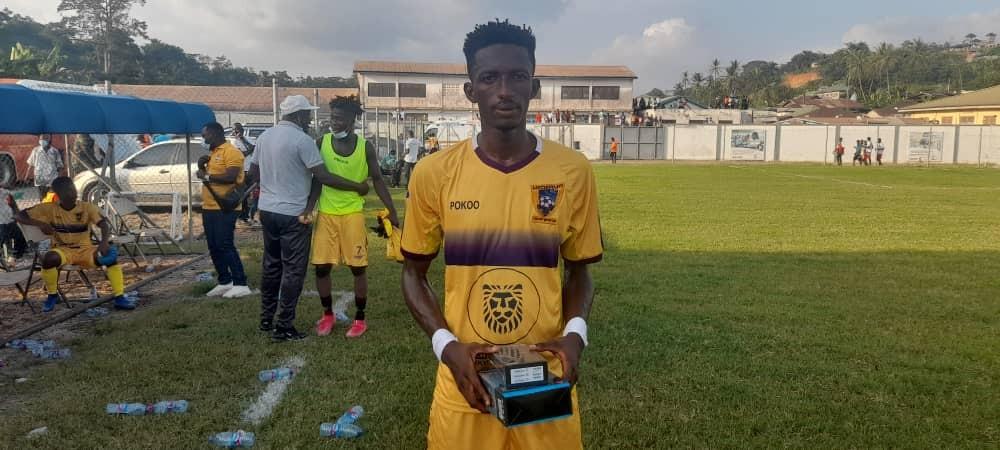 Defender Baba Musah clinches MVP in Dreams FC win